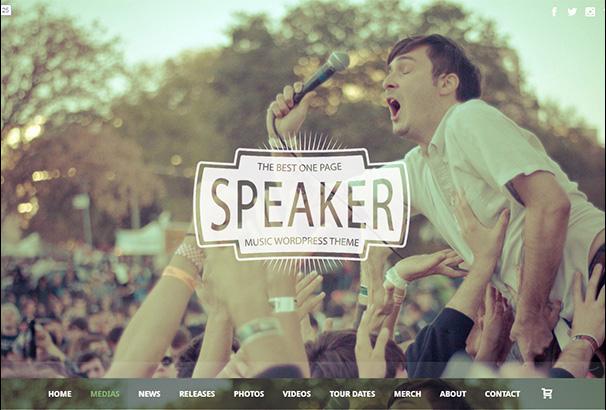 themeforest 20 Speaker