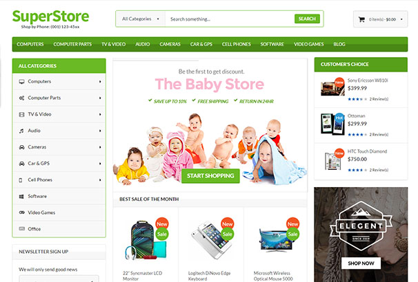 EM Themes 2 SuperStore