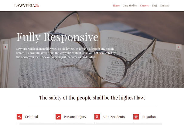 Themeisle Lawyeria