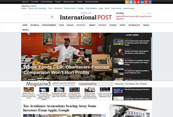 CM 8 International Post