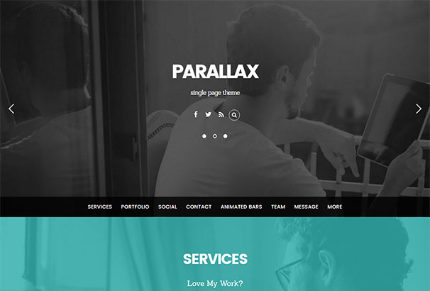 Themify 3 Parallax