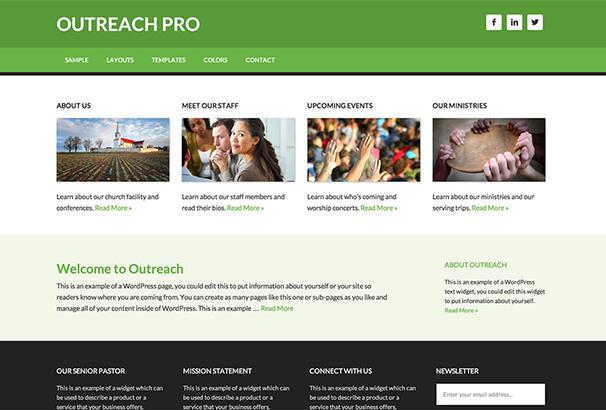 Outreach Pro Theme