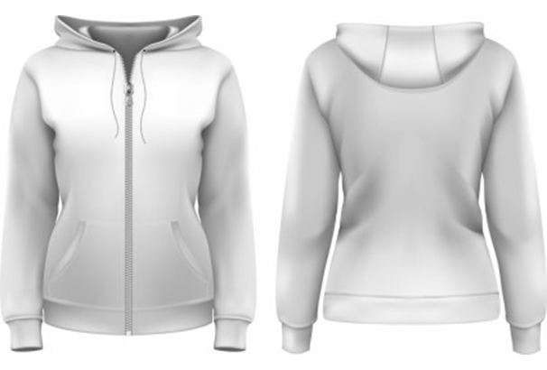 clothes-hoodie-zipper-template-vector