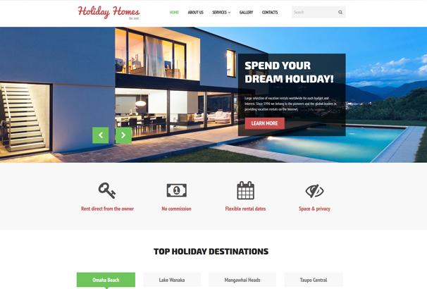 50+ Best HTML & Bootstrap Real Estate Website Templates 2017