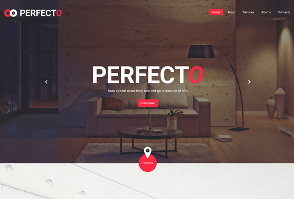 perfecto-website-template