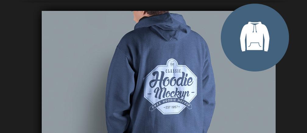 Free Hoodie Mockup PSD Templates