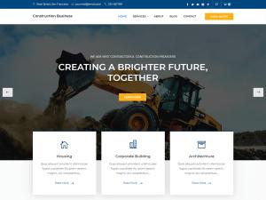 10 Best Free Construction WordPress Themes 2021