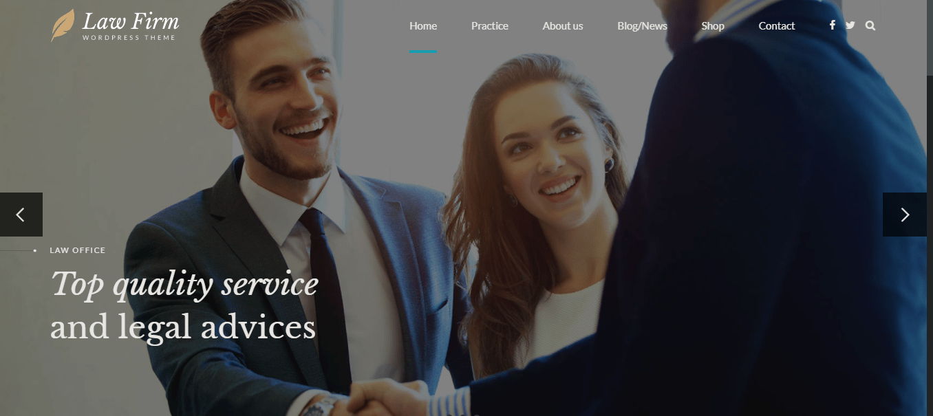 Best Law Firm WordPress Themes for Lawyers/ Legal Attorneys 2021