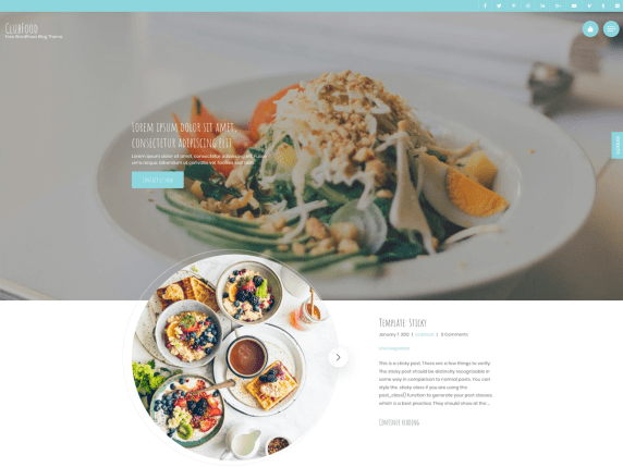 Read more about the article Best Free Food Blog WordPress Themes 2021