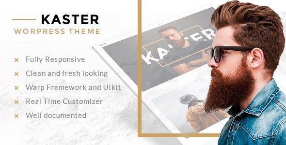 Kaster — Creative, Blog, Portfolio WordPress Theme