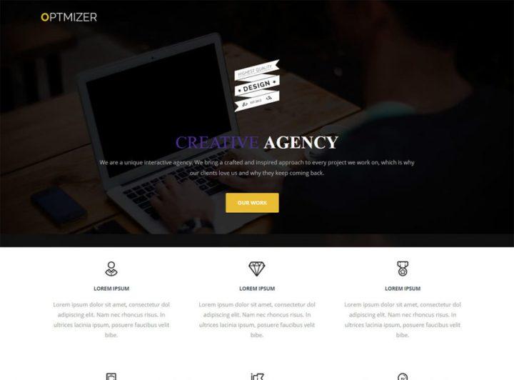 optimiseur-gratuit-one-page-theme-wordpress