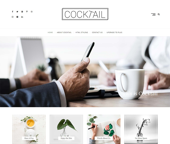 Portfolio wordpress theme is clean and minimal that is perfect for displaying your works in style, along with a beautiful blog and tons of great features. 25 Best Free Portfolio WordPress Themes Templates 2020