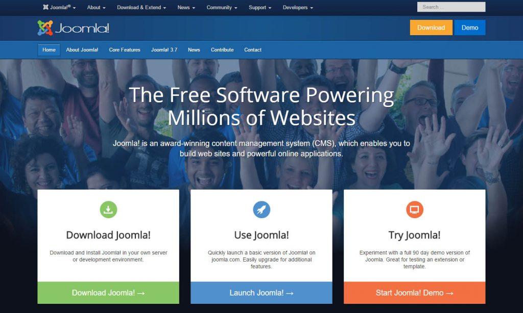 joomla-most-popular-cms-platform