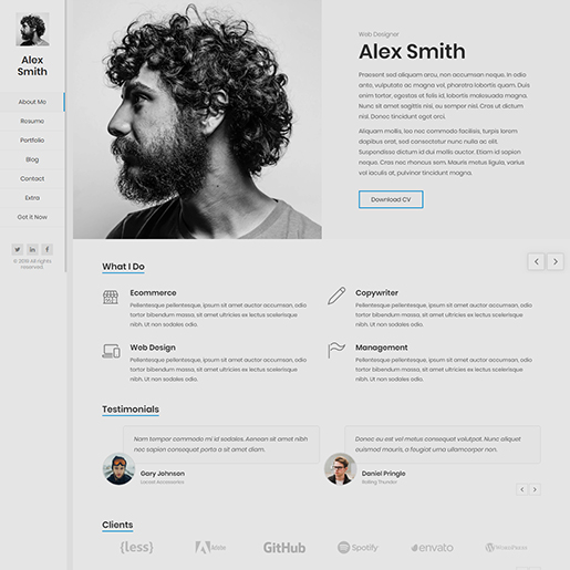 15+ Best WordPress Resume themes for Professional resumes and CVs 8