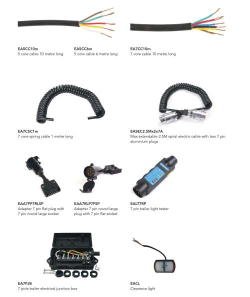 small resolution of wiring cables and pin accessories