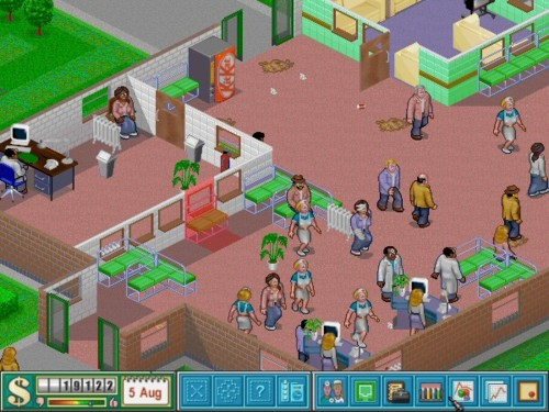 About Theme Hospital Theme Hospital By Bullfrog