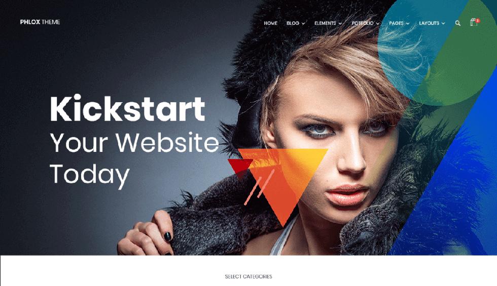 Phlox WordPress Theme