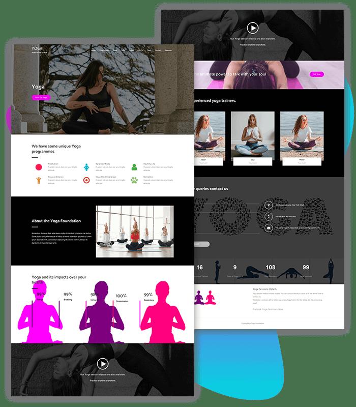 YOGA-fitness-one-click-demo-gogo-pro