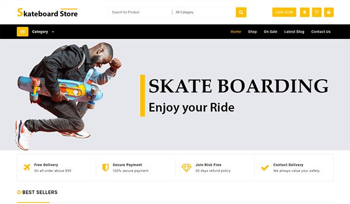 Skateboard-Store