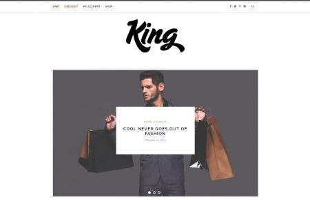 King free WooCommerce ready theme from ThemeIt