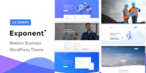 Exponent Business WordPress theme