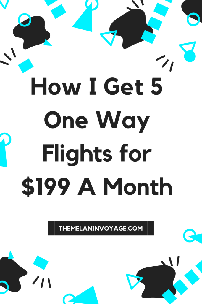 5 Flights A Month For Two Hundred Dollars?