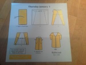 Raincoat (Instructions)