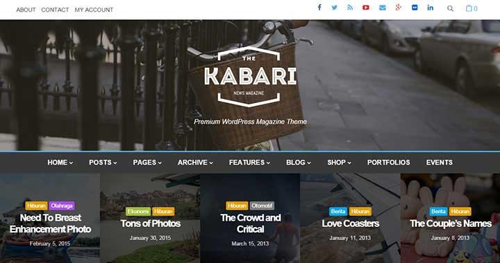 Kabari WordPress Magazine Themes