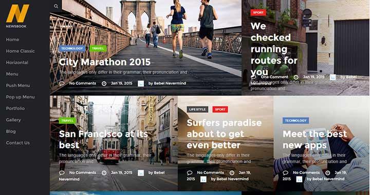 NewsBook WordPress Theme Magazine