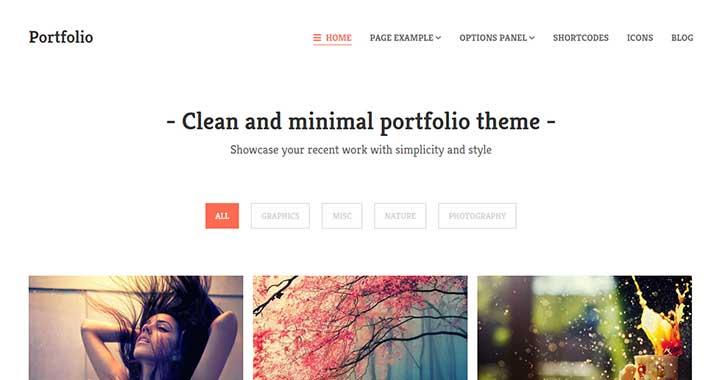 Portfolio Best Free Portfolio WordPress Themes