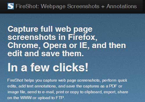 Fireshot Online Screenshot Capture