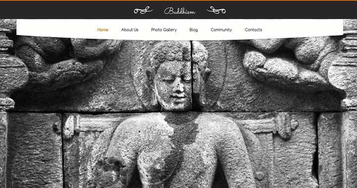 Buddhism Native Church WordPress Theme