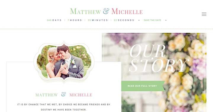 WeddingEngine WordPress Wedding Theme
