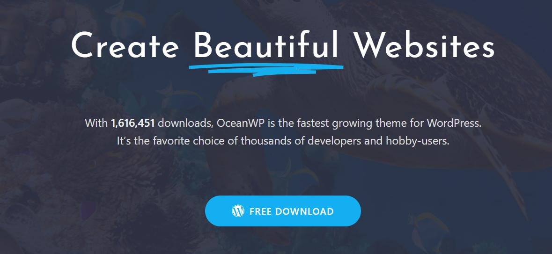 oceanwp reivew