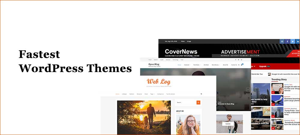 Fastest WordPress Blog Themes