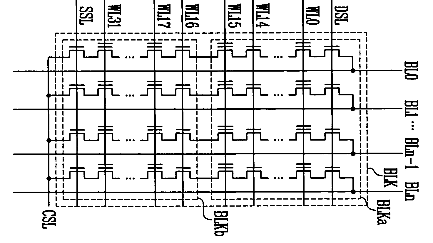 hight resolution of nand flash array circuit diagram from us patent 7 193 897