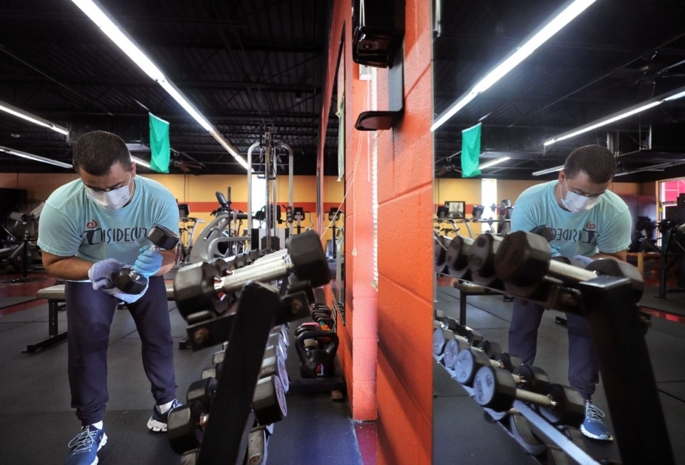 Some Shelby County Gyms Will Open As Early As Monday May 4 Memphis Local Sports Business Food News Daily Memphian
