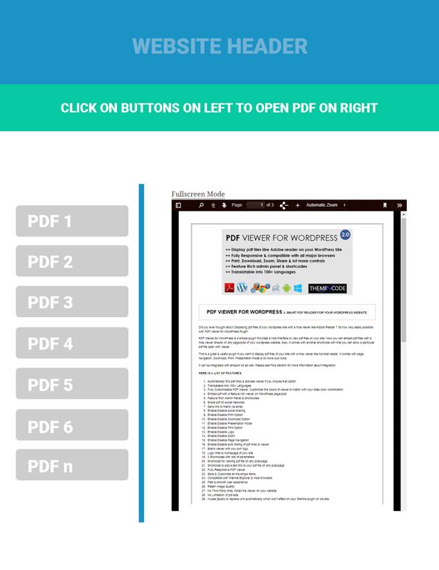 Navigative PDF Viewer for WordPress Addon WorkFlow