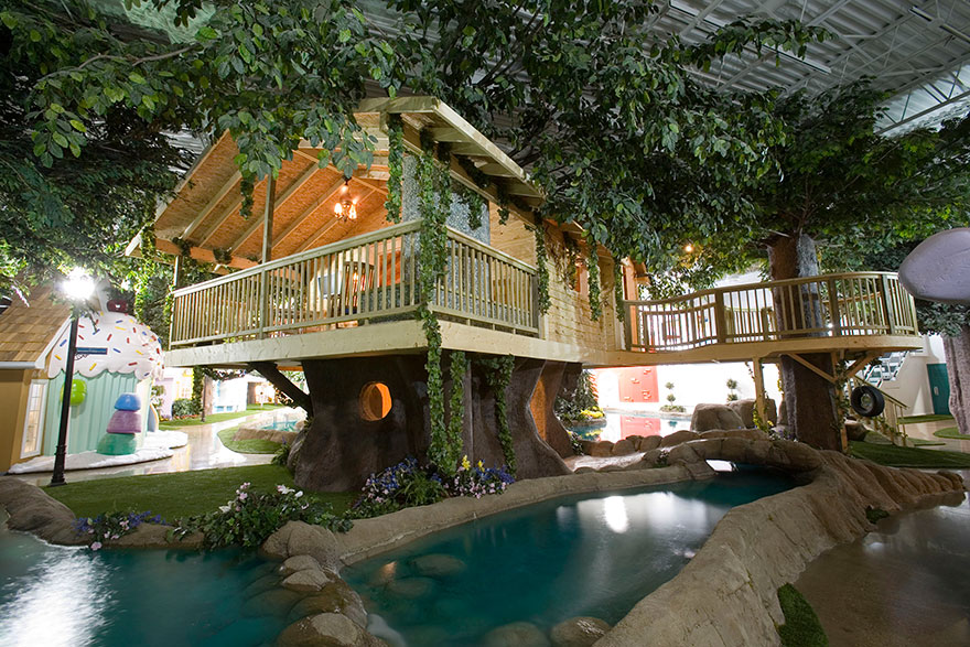 Inventionland Design Factory's treehouse