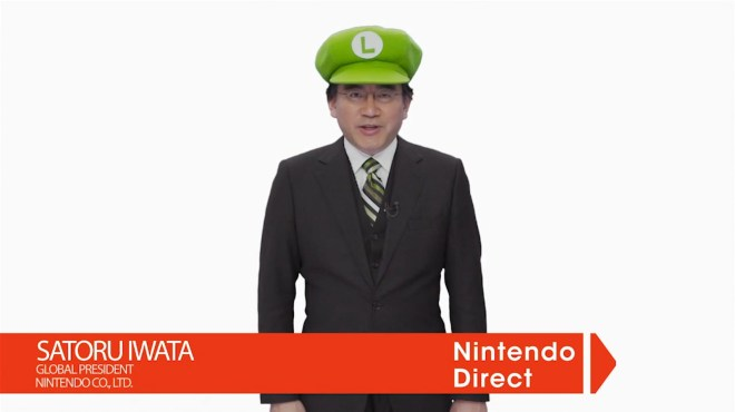 Satoru Iwata, this quirky man carries the weight of Nintendo on his shoulders!