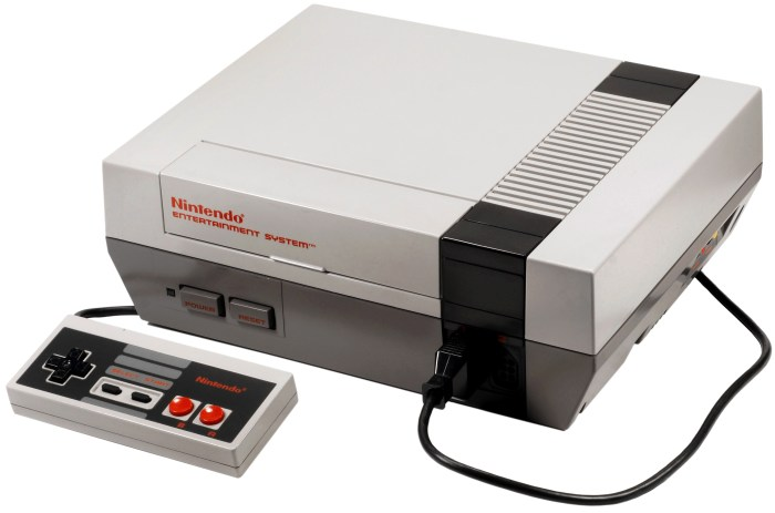 The NES, the console that made many of us into the gamers we are today!