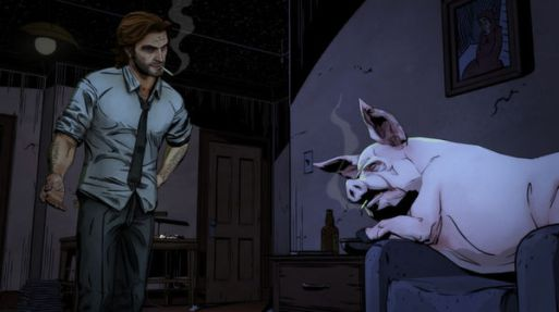 Bigby and Colin, best pals!