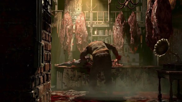 This is The Evil Within's horror, Hostel and Saw, blood and blades. It doesn't work!