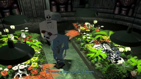 In the end perhaps, but in the meantime we all dance the Grim Fandango!