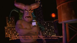 The devil's actually been in the Nightside, just not talking about slander! (Image Credit: gamecola.net)