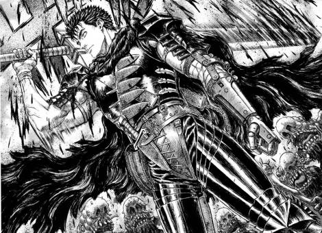I modelled the warrior after Guts from Berserk. Maybe that helped sell him as a badass!