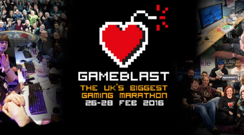 Blast Off for SpecialEffect – GameBlast 2016