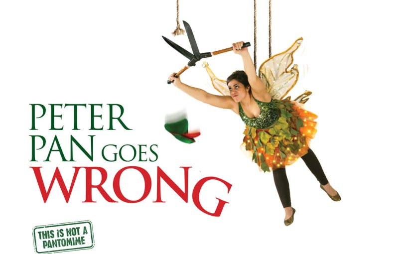 A Night in the Theatre – Peter Pan Goes Wrong
