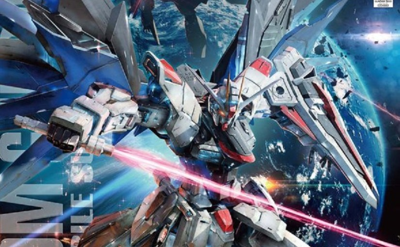 Gunpla – Freedom Gundam Build!