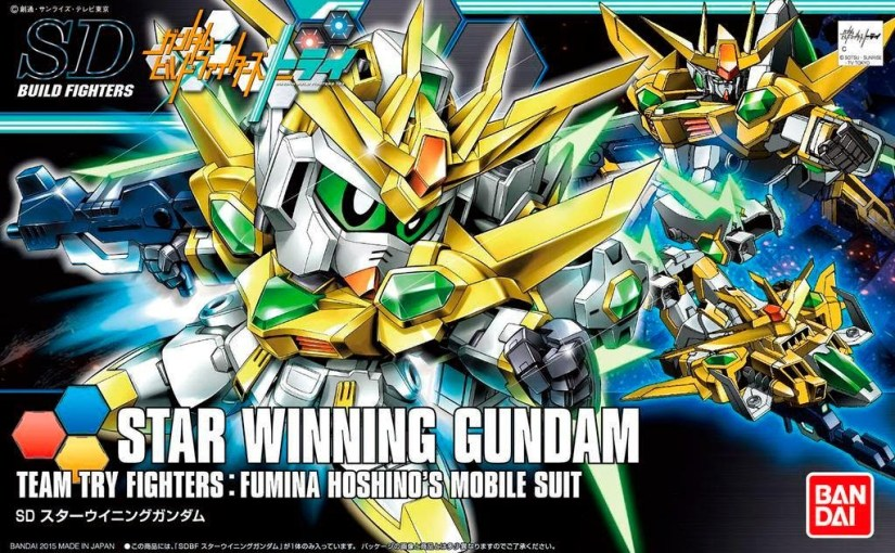Gunpla – Star Winning Gundam Build